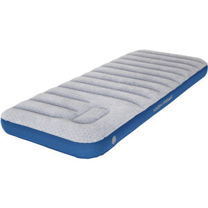 High Peak Air bed Cross Beam Single Extra Long Mattress hellgrau/blau hellgrau/blau
