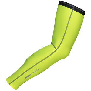 GripGrab Classic Thermal Hi-Vis Leg Warmers fluo yellow fluo yellow