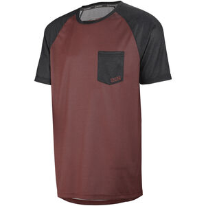 IXS Flow Jersey Herren night red/black night red/black