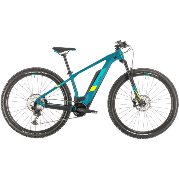 Cube Access Hybrid Race 500 Damen pinetree/lime