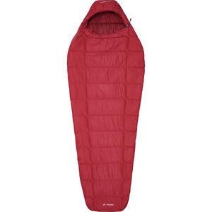 VAUDE Sioux 400 Syn S Sleeping Bag dark indian red