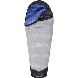 The North Face Blue Kazoo Sleeping Bag Long Damen high rise grey/stellar blue high rise grey/stellar blue