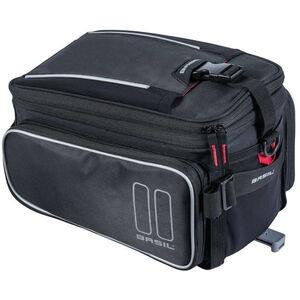 Basil Sport Design Gepäckträgertasche 7-15l mit MIK System black black