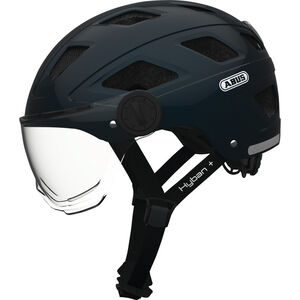 ABUS Hyban+ Helmet midnight blue, clear visor