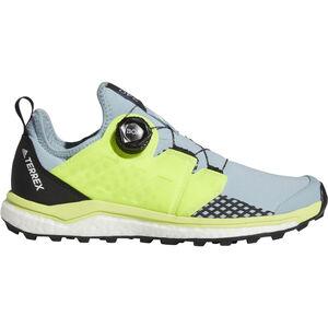 adidas TERREX Agravic Boa Schuhe Damen ash grey/solar yellow/core black ash grey/solar yellow/core black