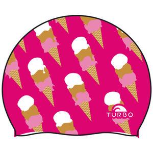 Turbo Ice Cream Swimming Cap Fuchsia bei fahrrad.de Online