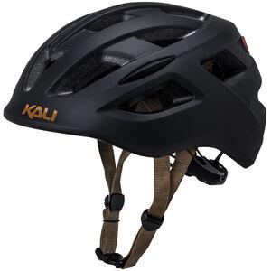 Kali Central Helm matt schwarz matt schwarz