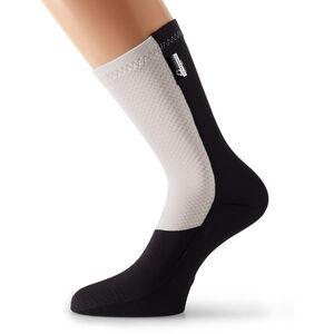 assos fuguSpeer_S7 Socks Unisex whitePanther