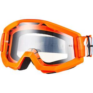 100% Strata Goggles orange/clear