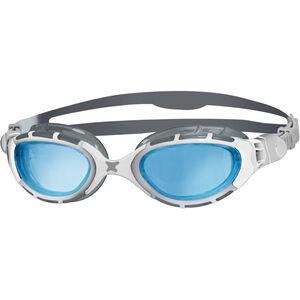 Zoggs Predator Flex Goggles grey/white/tint grey/white/tint