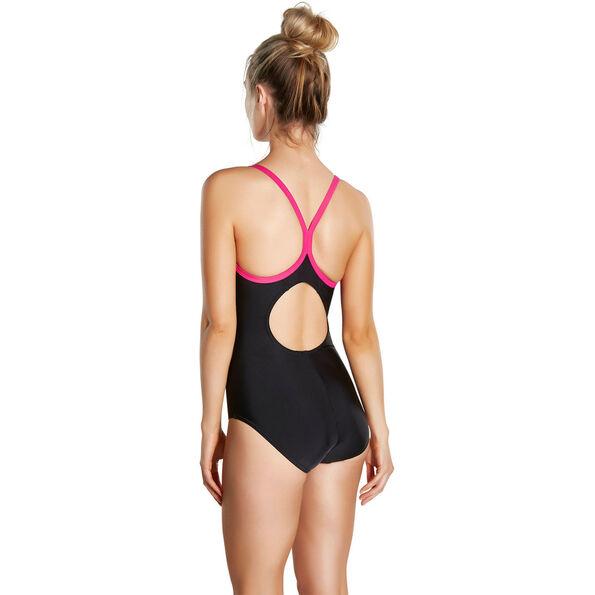 speedo Splice Thinstrape Racerback Swimsuit Women