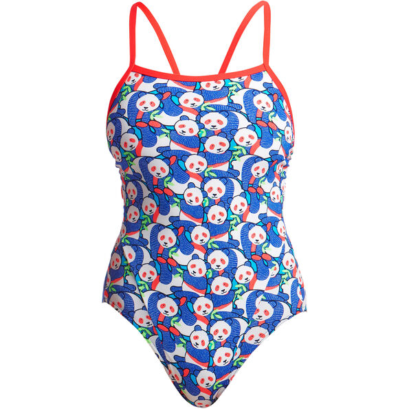 Funkita Eco Single Strap Badeanzug Damen pandamania