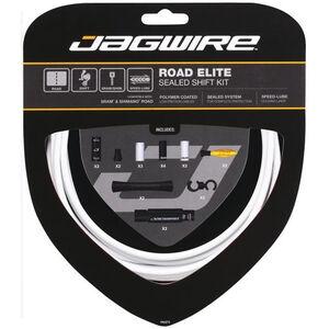 Jagwire Elite Sealed Schaltzugset weiß weiß