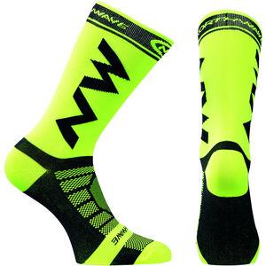 Northwave Extreme Light Pro Socks yellow fluo-black yellow fluo-black