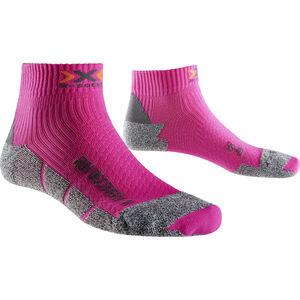 X-Socks Run Discovery Short Socks Women Fuchsia/Grey Moulinè bei fahrrad.de Online