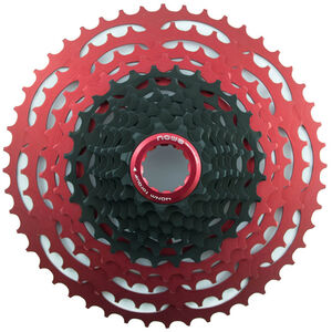 NOW8 Facile Cassette 12-speed for Shimano black/red black/red