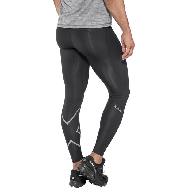 2XU Run Compression Tights Herren black/ black reflective