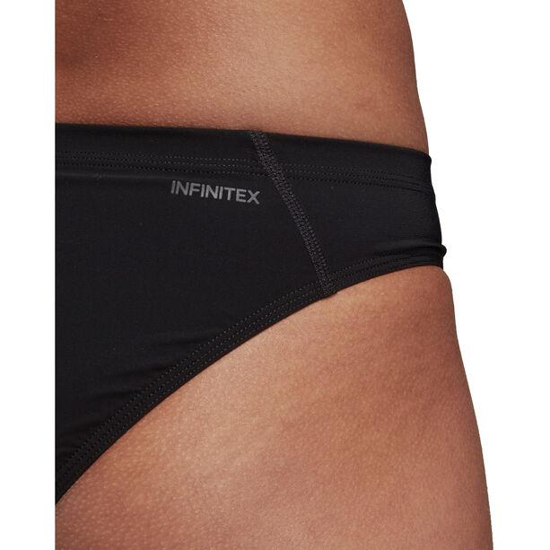 adidas Two-Piece Placed-Print Bikini Damen black/shock pink