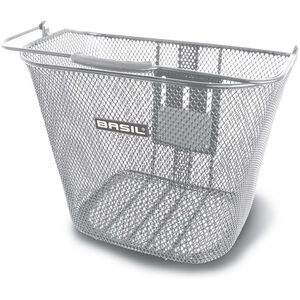 Basil Bremen BE Front Wheel Basket with BasEasy Adapter Plate without Holder silber silber