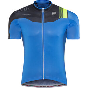 Sportful Bodyfit Pro Race Jersey Men electric blue/black/green fluo bei fahrrad.de Online