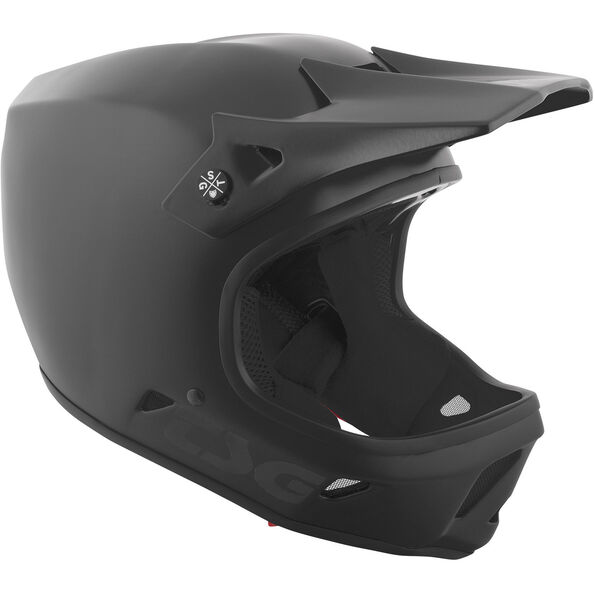 TSG Advance Solid Color Helmet satin black