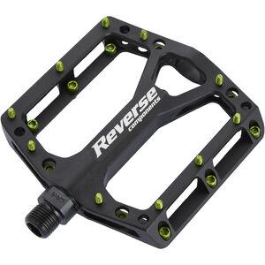 Reverse Black One Pedals schwarz/hellgrün schwarz/hellgrün