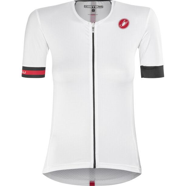 Castelli Free Speed Race Jersey Damen white/black