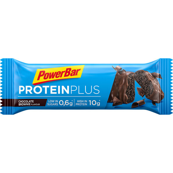 PowerBar ProteinPlus Riegel Box Chocolate Brownie 30 x 35g