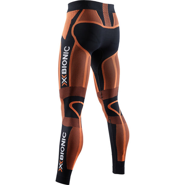 X-Bionic The Trick 4.0 Laufhose Herren black/trick orange