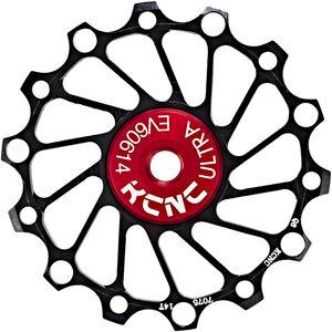 KCNC Jockey Wheel Ceramic Bearing Narrow Wide 14 Zähne black