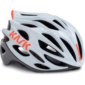 Kask Mojito X Helm weiß/orange weiß/orange