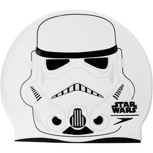 speedo Star Wars Slogan Cap Kinder white/usa charcoal/black