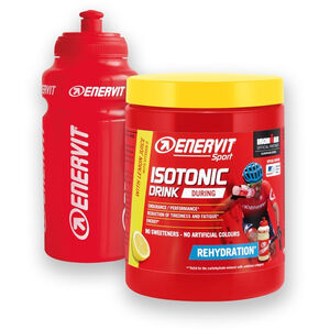 Enervit Sport Isotonic Drink 420g with Bottle Lemon