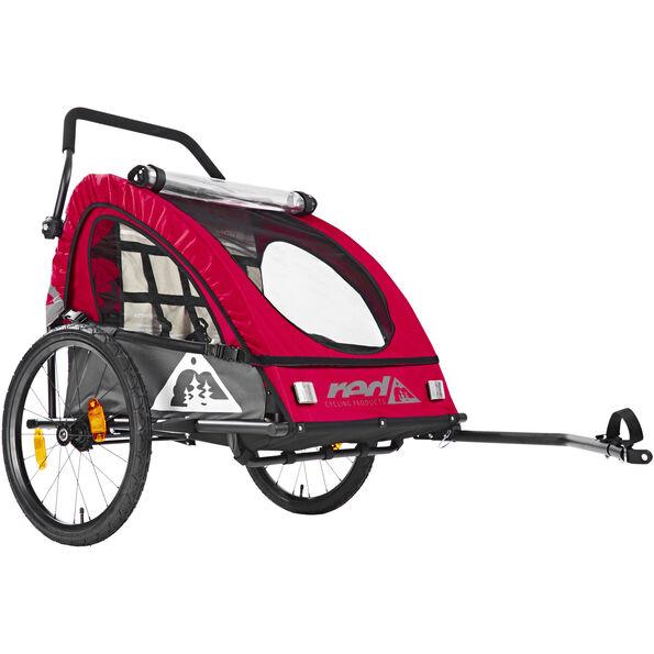 Red Cycling Products PRO Kids BikeTrailer Kinderanhänger