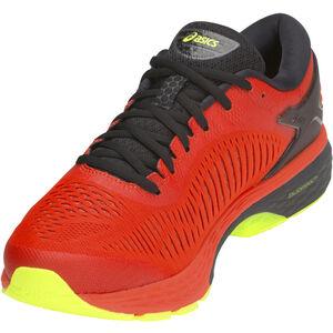 asics Gel-Kayano 25 Shoes Herren cherry tomato/safety yellow cherry tomato/safety yellow