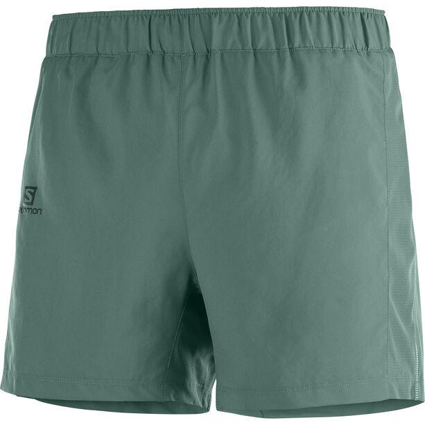 """Salomon Agile Shorts 5"""" Herren balsam green"""