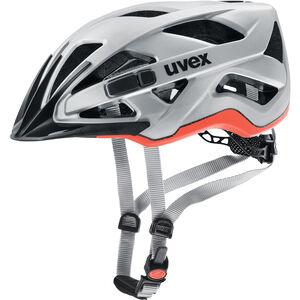 UVEX Active CC Helmet silver-orange matt silver-orange matt