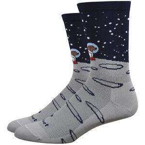 """DeFeet Aireator 6"""" Socks moon doggo/grey/navy moon doggo/grey/navy"""