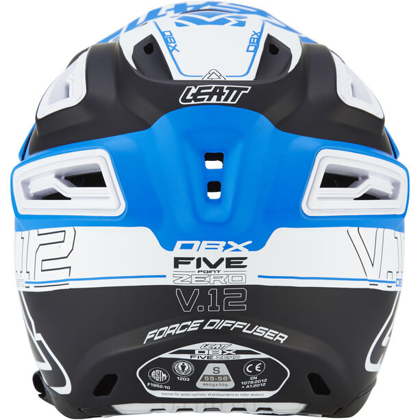 Leatt DBX 5.0 Composite Helmet black/blue