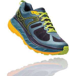Hoka One One Stinson ATR 5 Running Shoes Herren mallard green/gold fusion mallard green/gold fusion