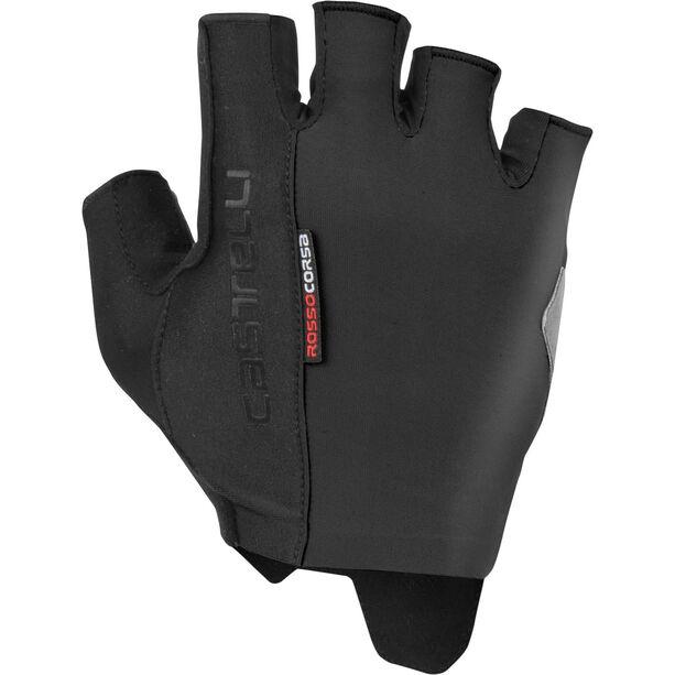 Castelli Rosso Corsa Espresso Gloves Herren black
