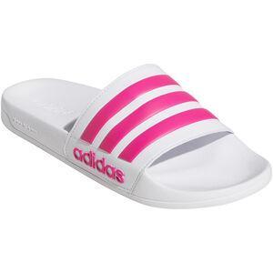 adidas Adilette Shower Slippers Women footwear white/shock pink/footwear white