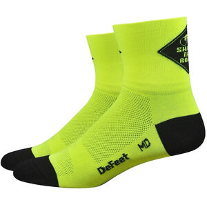 """DeFeet Aireator 3"""" Socks share the road share the road"""