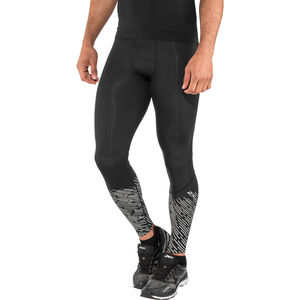 2XU Reflect Run Tights Men black/silver lightbeams reflec bei fahrrad.de Online