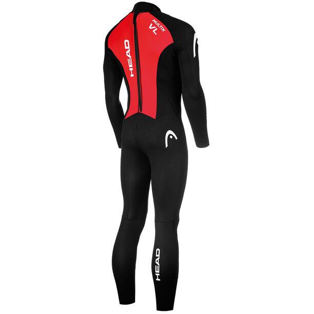 Head Multix VL Multisport 2,5 Wetsuit Damen black/red