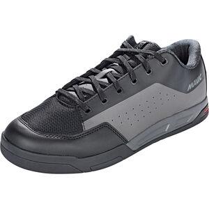 Mavic Deemax Elite Flat Mid Shoes Unisex Black/Magnet/Black bei fahrrad.de Online