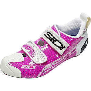 Sidi T-4 Air Carbon Shoes Women Fuxia/White bei fahrrad.de Online