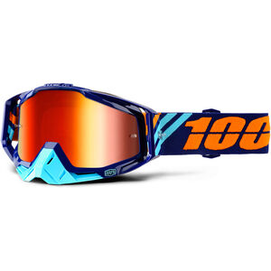 100% Racecraft Anti Fog Mirror Goggles calculus navy bei fahrrad.de Online