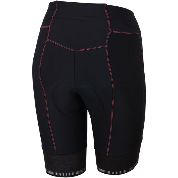 Karpos Verve Shorts Damen black/pink fluo