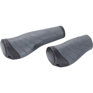 XLC GR-S04 Ergonomic Schraubgriffe schwarz/grau schwarz/grau